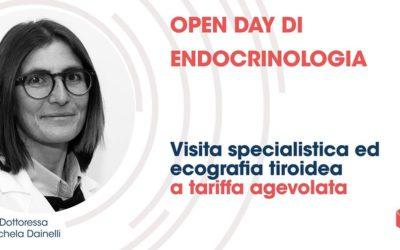 Sabato 28 aprile, Open Day di endocrinologia
