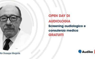 Sabato 26 maggio, Open Day di audiologia