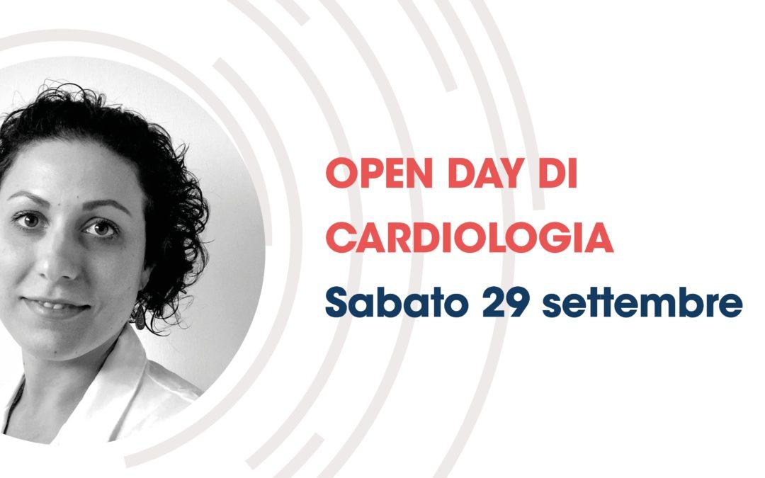 Sabato 29 settembre, Open day di Cardiologia