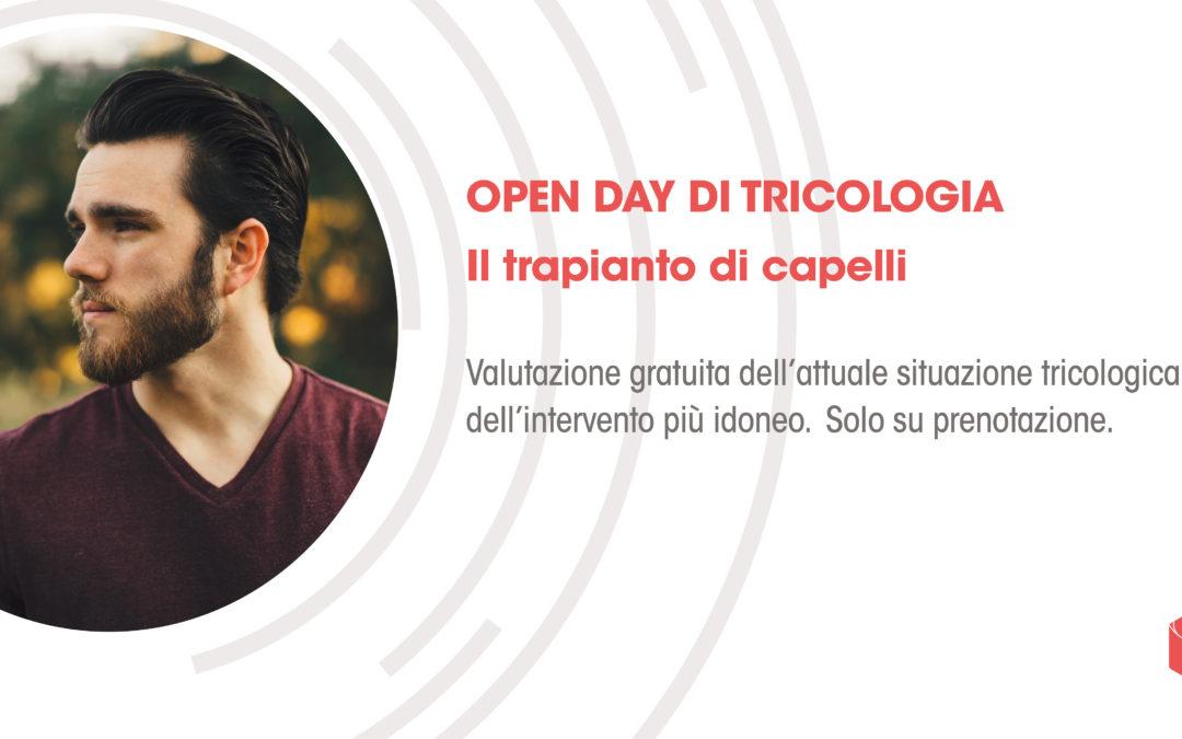 Sabato 1 dicembre Open day di Tricologia: visita gratuita per il Trapianto di capelli