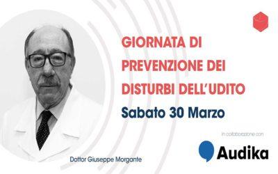 Sabato 30 marzo, giornata di prevenzione dei disturbi dell'udito