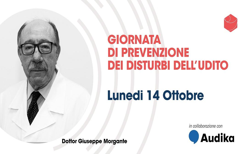 Lunedì 14 ottobre Giornata di prevenzione dei disturbi dell'udito